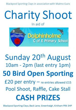 Charity Shoot - Dolphinholme Primary